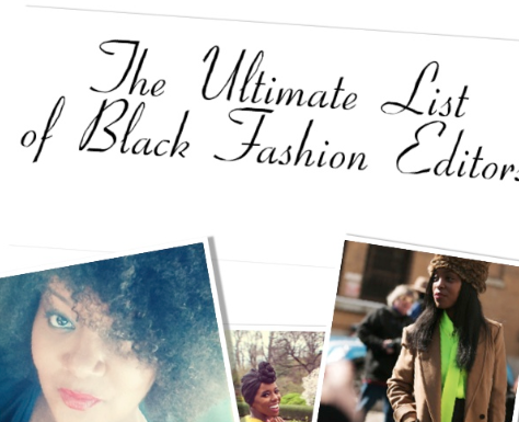 List Of Black Fashion Designers The Ultimate List Of Black